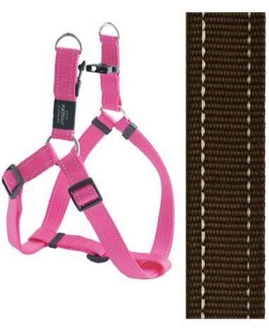 Rogz Utility Fanbelt Brown Large Step-In Dog Harness