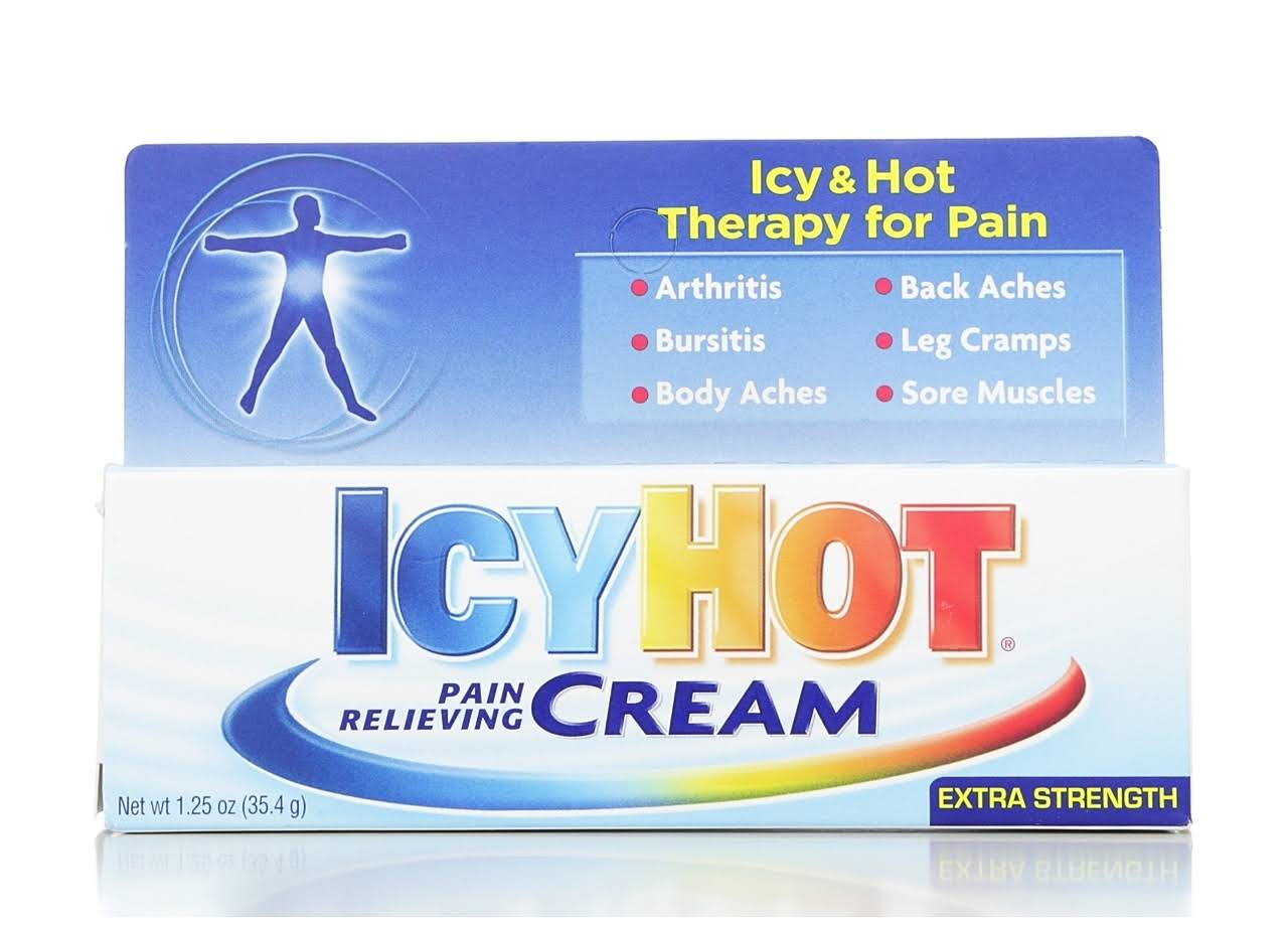 Icy Hot Pain Relieving Cream - Extra Strength, 1.25oz