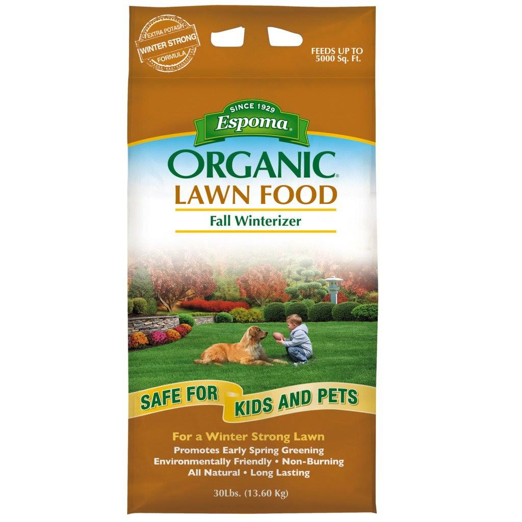 Espomax Organic Fall Winterizer Lawn Food - 30lbs