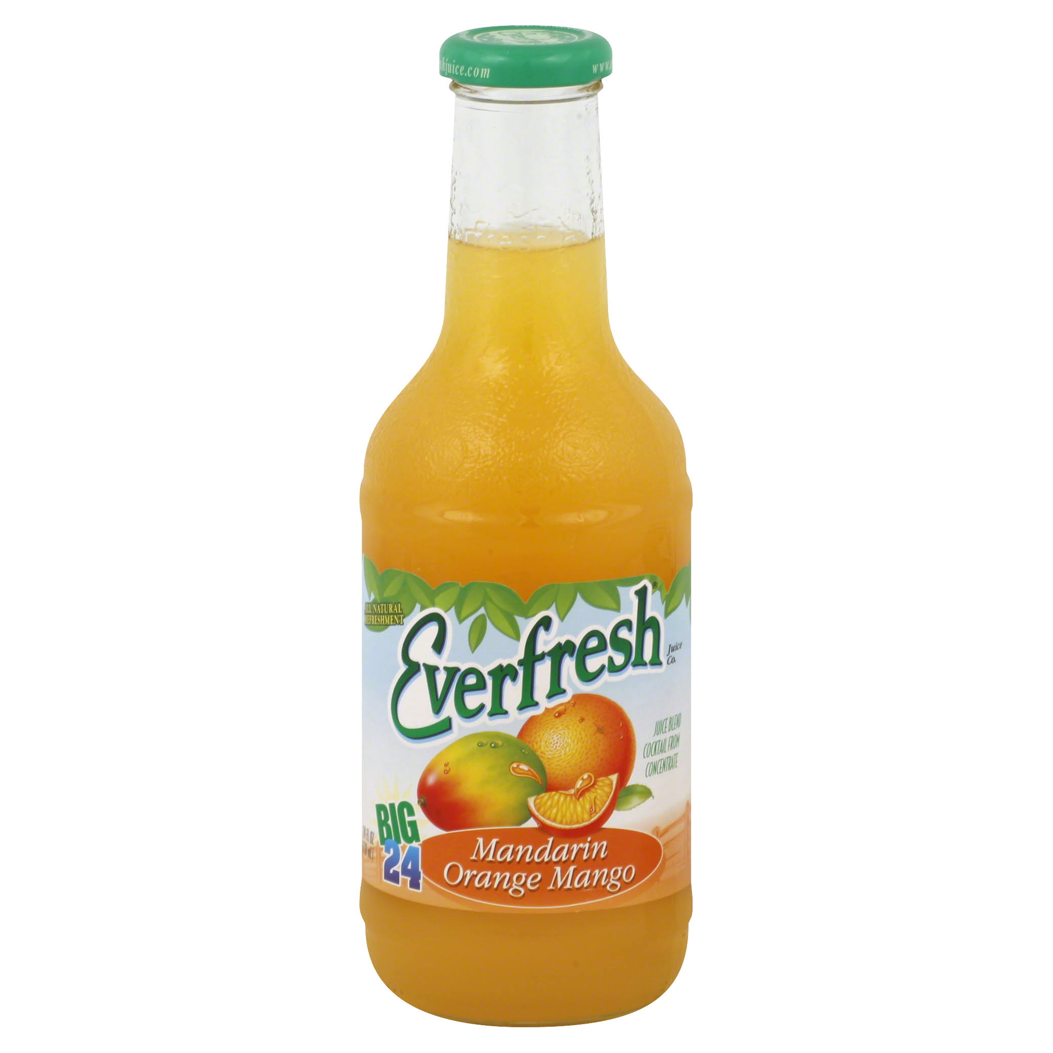 Everfresh Juice Blend Cocktail - Mandarin Orange Mango, 24oz