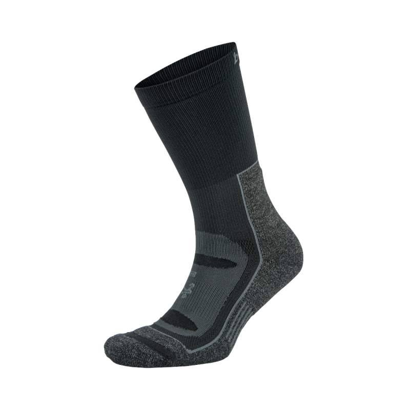Balega Blister Resist Crew Socks Black/Grey