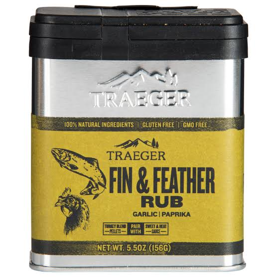 Traeger Fin and Feather Rub - Garlic & Paprika, 156g
