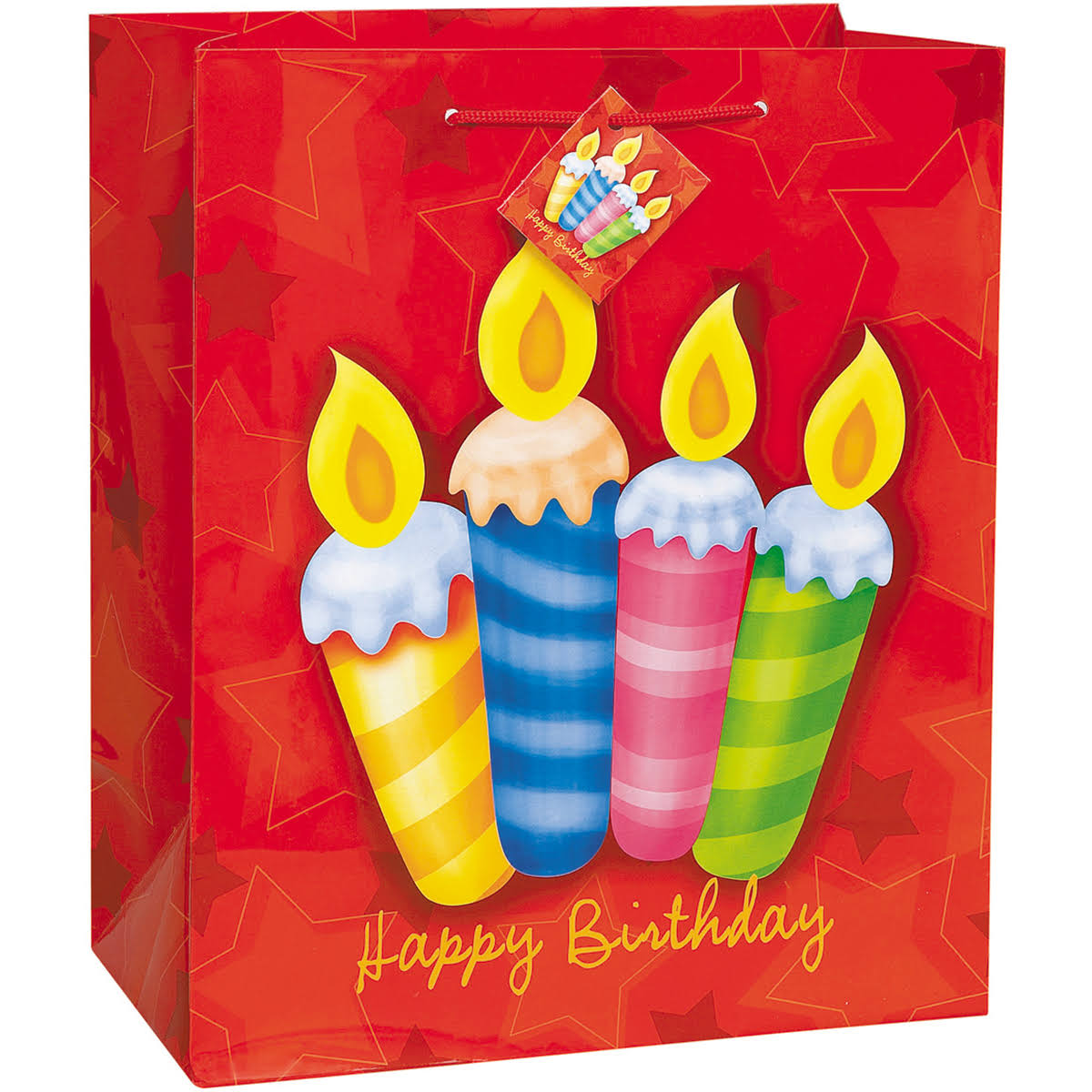 "Birthday Surprise Gift Bag Assortment 18""x13"" 3 Each of 4 Designs"