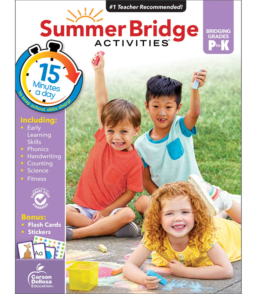 Summer Bridge Activities: Ages 4 to 5