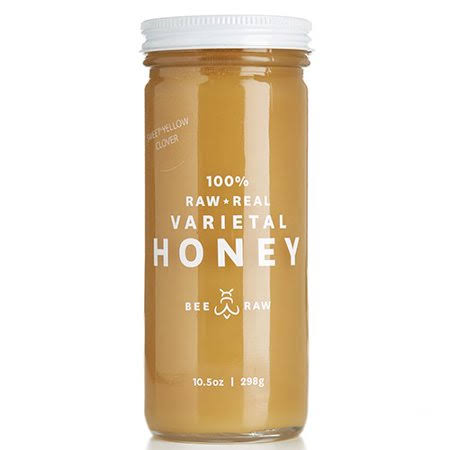 Bee Raw Colorado Sweet Yellow Clover Honey - 10.5 oz jar