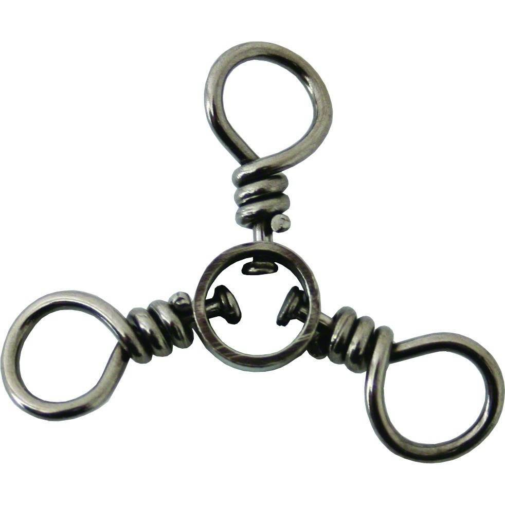 Boone Black 3-Way Swivels