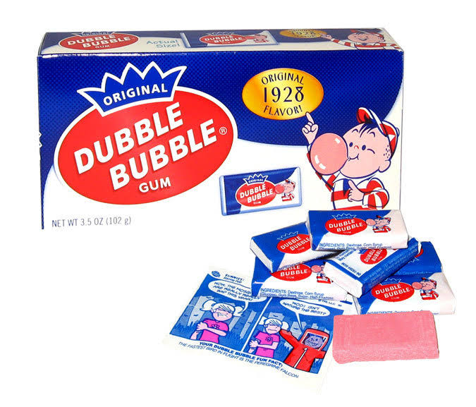 Dubble Bubble Gum - Original Flavor, 102g