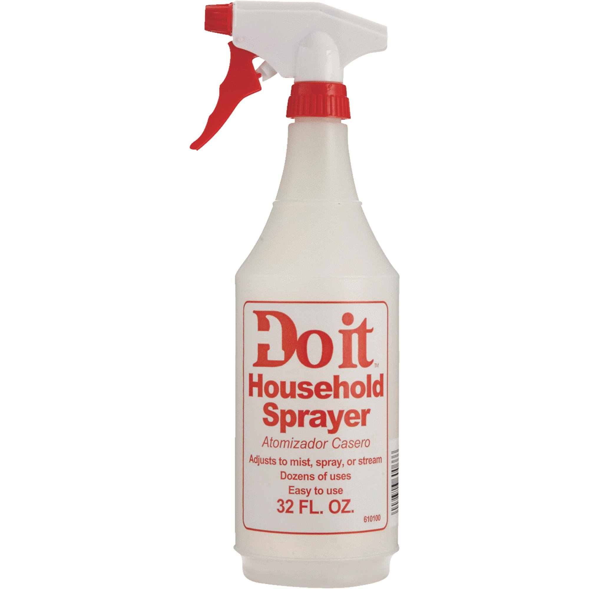Do It Plastic Bottle With Sprayer - 32oz