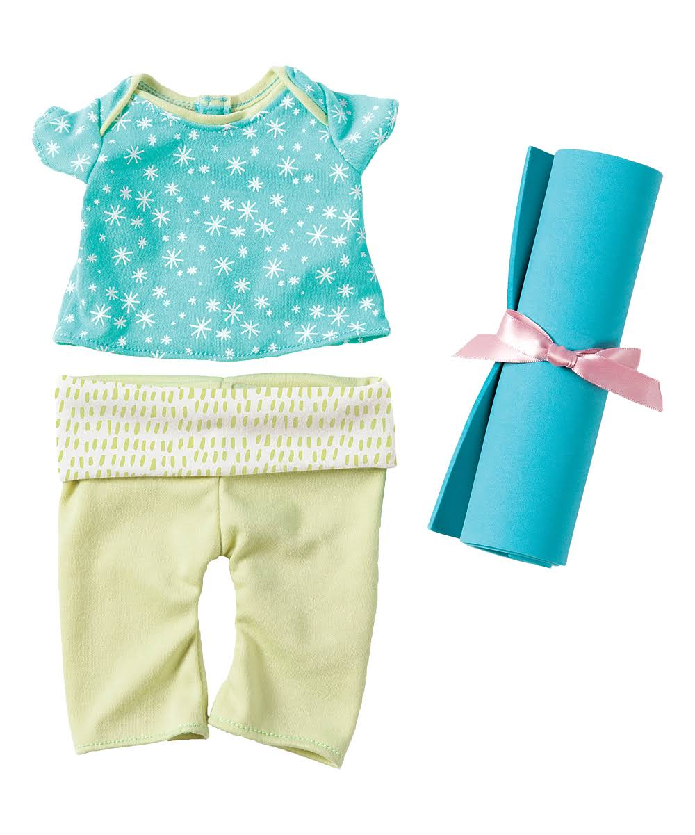 Manhattan Toy Baby Stella Baby Doll Yoga Set