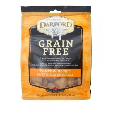 Darford Grain-Free Pumpkin Dog Treat - 12 oz