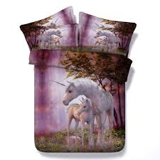 Lavender And Grey Bedding by New Arrival Cute Unicorn Printing Duvet Cover Sets 3d Animal
