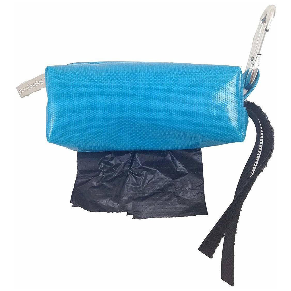 Doggie Walk Bags Duffel Bags for Dogs - Unscented, Solid Turquoise, Black