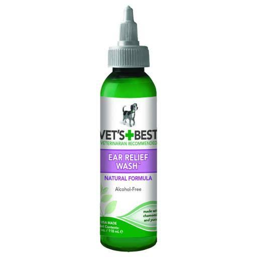 Vet's Best Dog Ear Relief Wash - 4oz