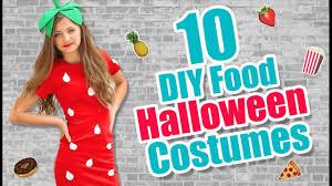 Ideas For Halloween Food Names by 10 Food Inspired Diy Halloween Costume Ideas Kamri Noel Youtube