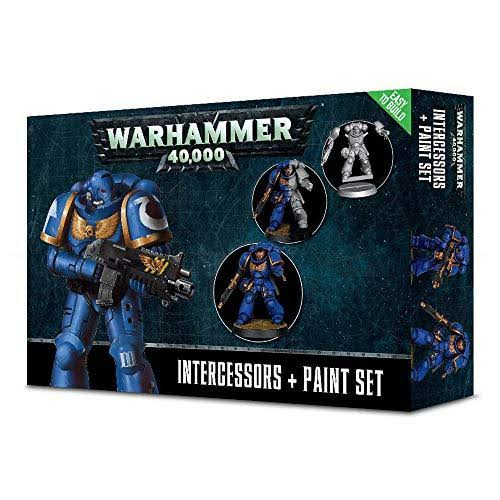 Warhammer Intercessors & Paint Set