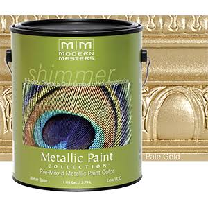 Modern Masters ME200-GAL Metallic Paint Pale Gold
