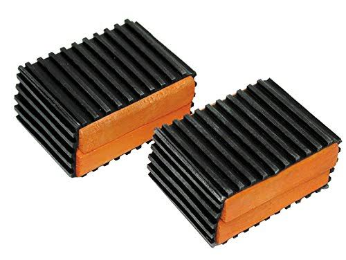 "Sunlite Bec4111 B1 Bike Bicycle Tricycle Pedal Blocks - 1.5"", Black/Orange"
