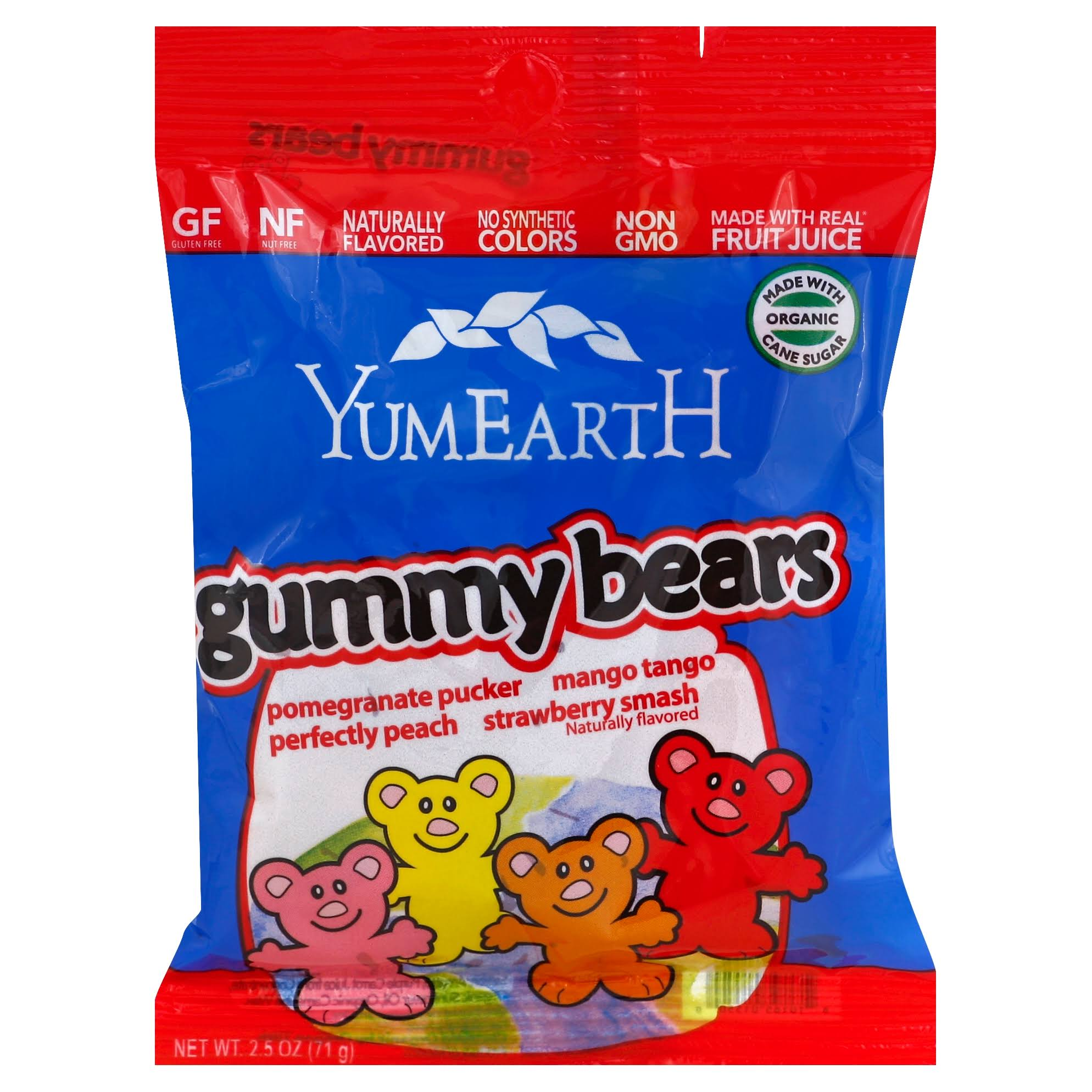 YumEarth Organics Gummy Bears - 20ml