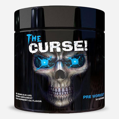 Cobra Labs The Curse Pre Workout Dietary Supplement - Blue Raspberry Ice, 250g