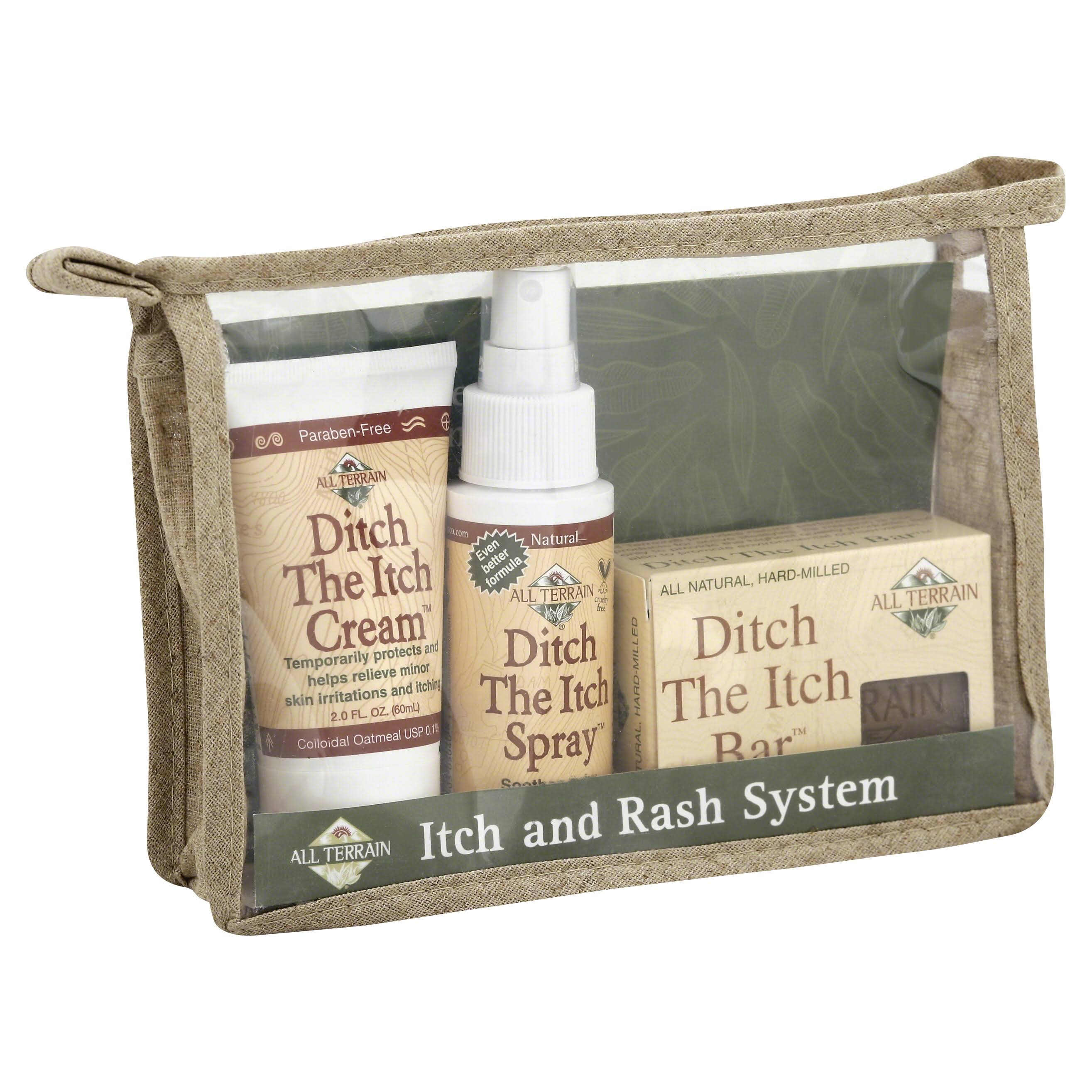 All Terrain Solution System Kit - Ditch The Itch, 3ct