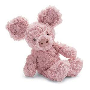 Jellycat Squiggle Pig Plush Toy - 9""