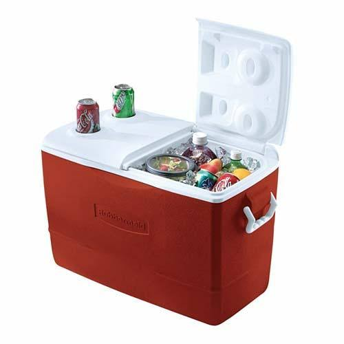 Rubbermaid Insulated Modern Cooler - Red, 50qt