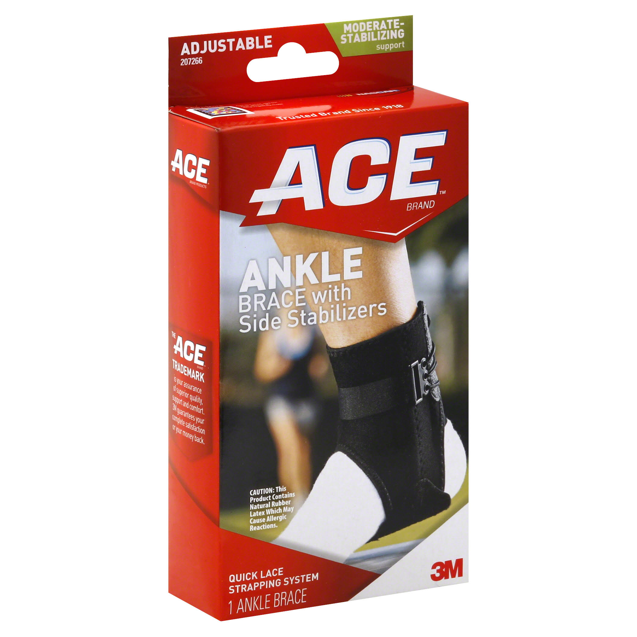 Ace Ankle Brace With Side Stabilisers
