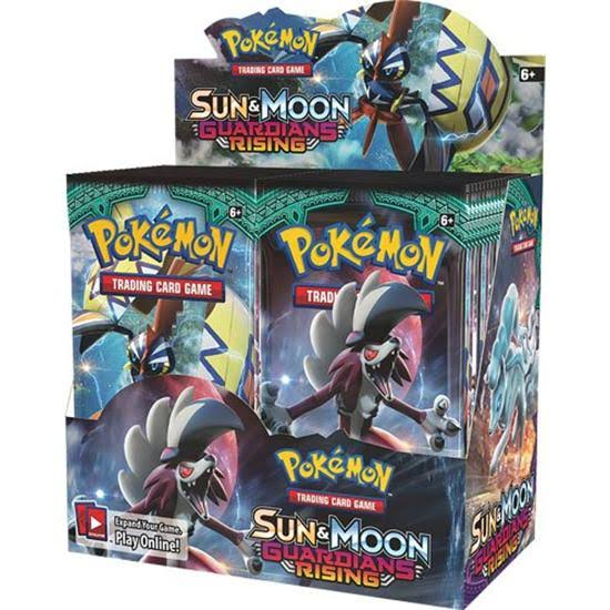 Pokemon TCG Sun & Moon Guardians Rising Booster Pack - 10 Cards