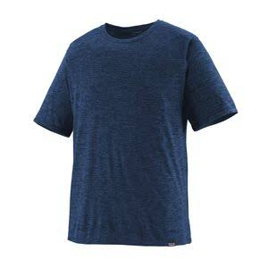 Patagonia Men's Capilene Cool Trail T-Shirt - Dark Blue, Large