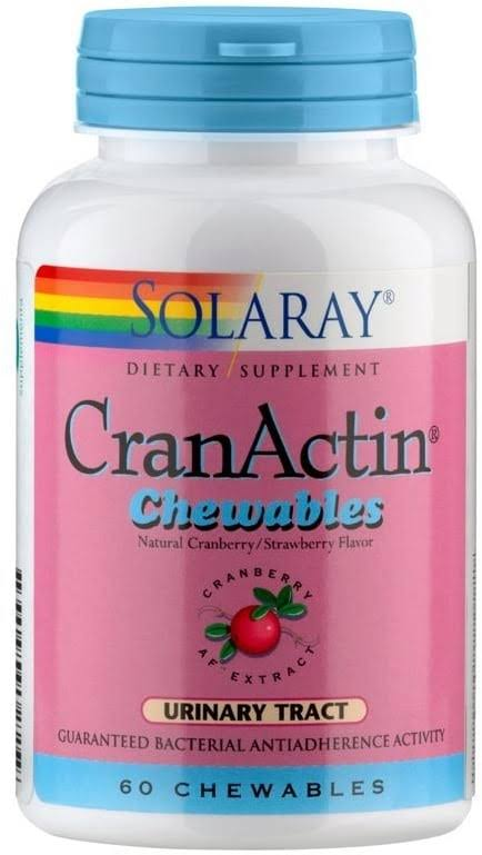 Solaray CranActin Chewable - Strawberry
