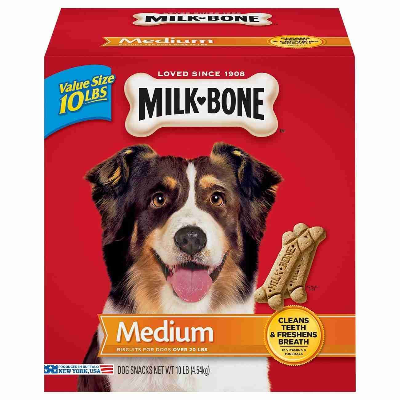 Milk-Bone Original Dog Treats - 10lbs, for Medium Dogs