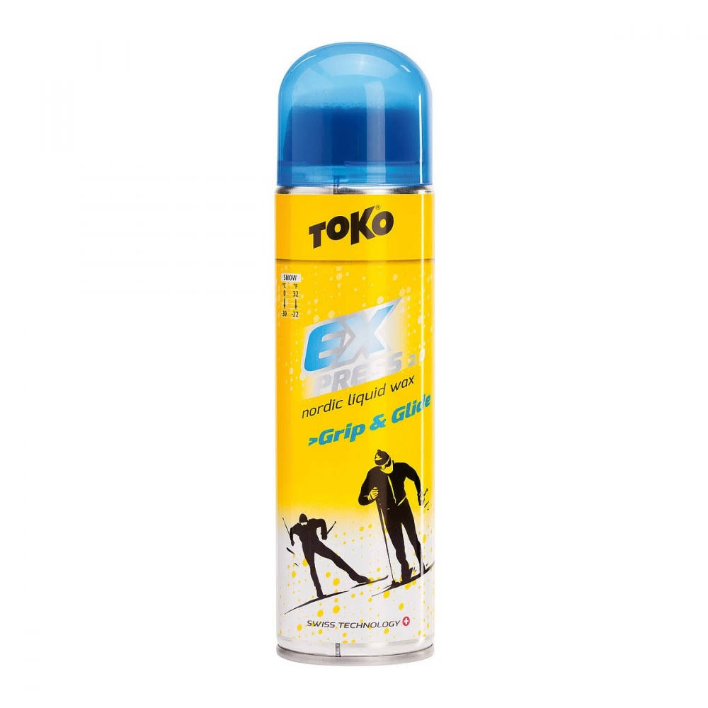 Toko Express Grip & Glide Nordic Liquid Wax - 200ml