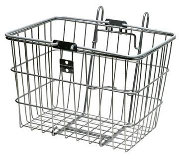 Sunlite Cycling Standard Lift Off Basket - Silver