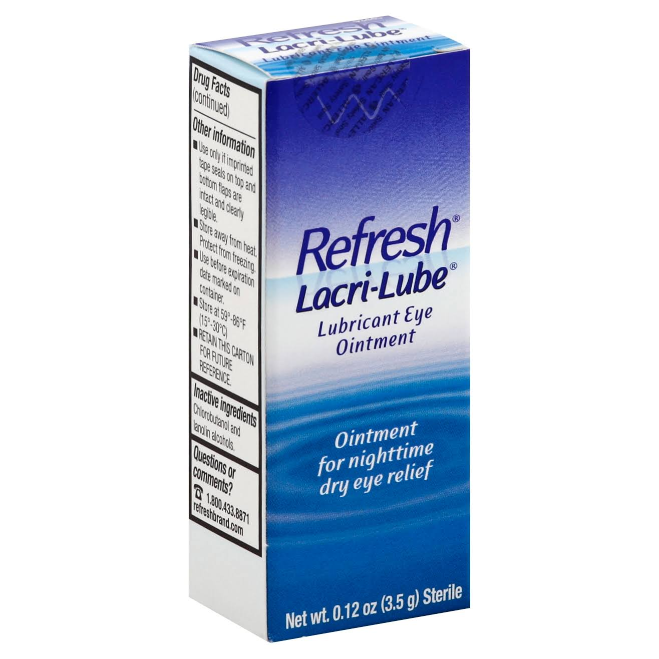 Allercan Refresh Lacri-Lube Lubricant Eye Ointment - 3.5g