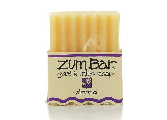 Zum Bar Goat's Milk Soap, Almond - 3 oz bar