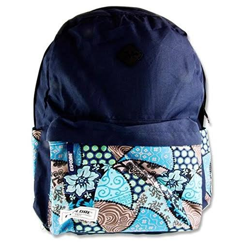 Premier Stationery Explore Casual Daypack, 45 cm, 30 L, Navy Blue