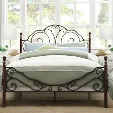The Fenton Headboard From Sleepys by Wrought Iron Headboard And Footboard Queen Designs With Metro Shop