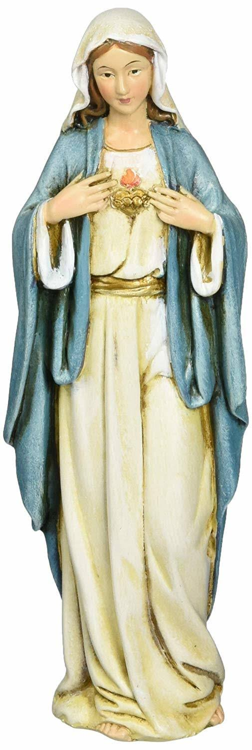 Joseph Studio Immaculate Heart of Mary Religious Figurine - 6 in