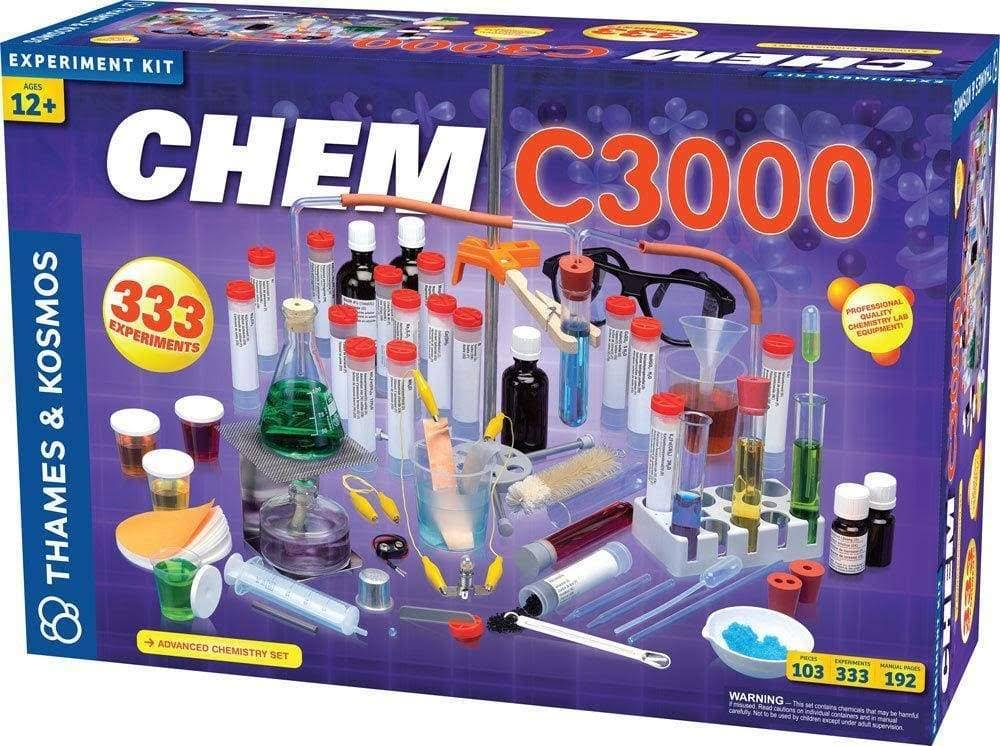 Thames and Kosmos Chem C3000 Science Experiment Kit