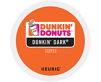 Dunkin Donuts K-Cup Pods - Dark Roast, 24ct