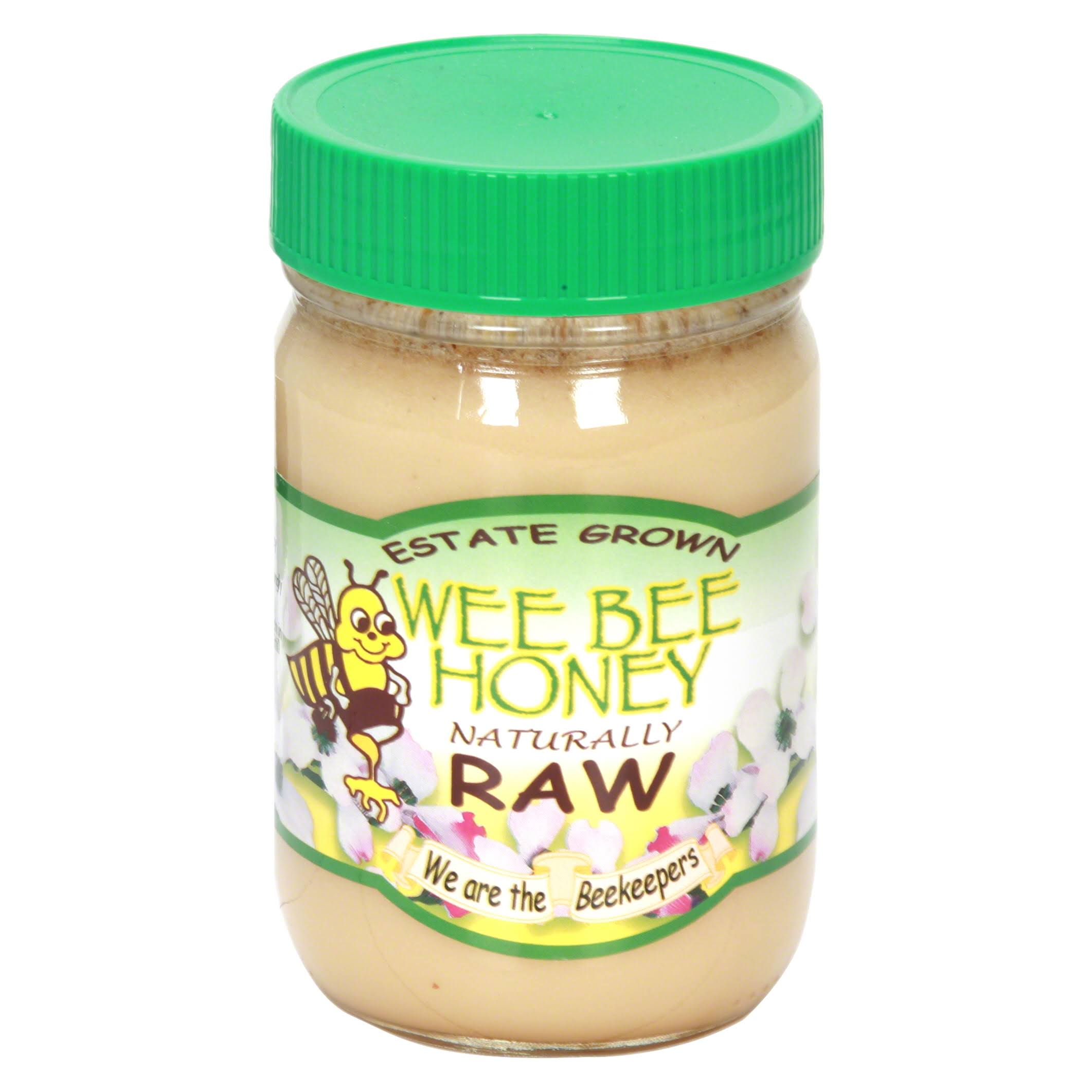 Wee Bee Naturally Raw Honey - 16oz