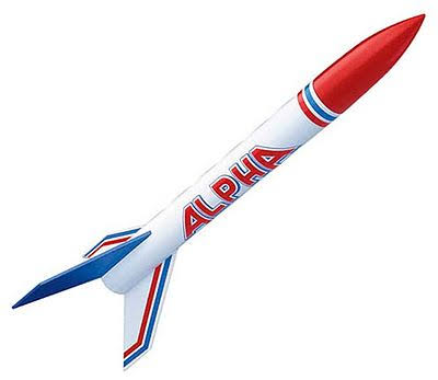 Estes Alpha Flying Model Rocket Kit