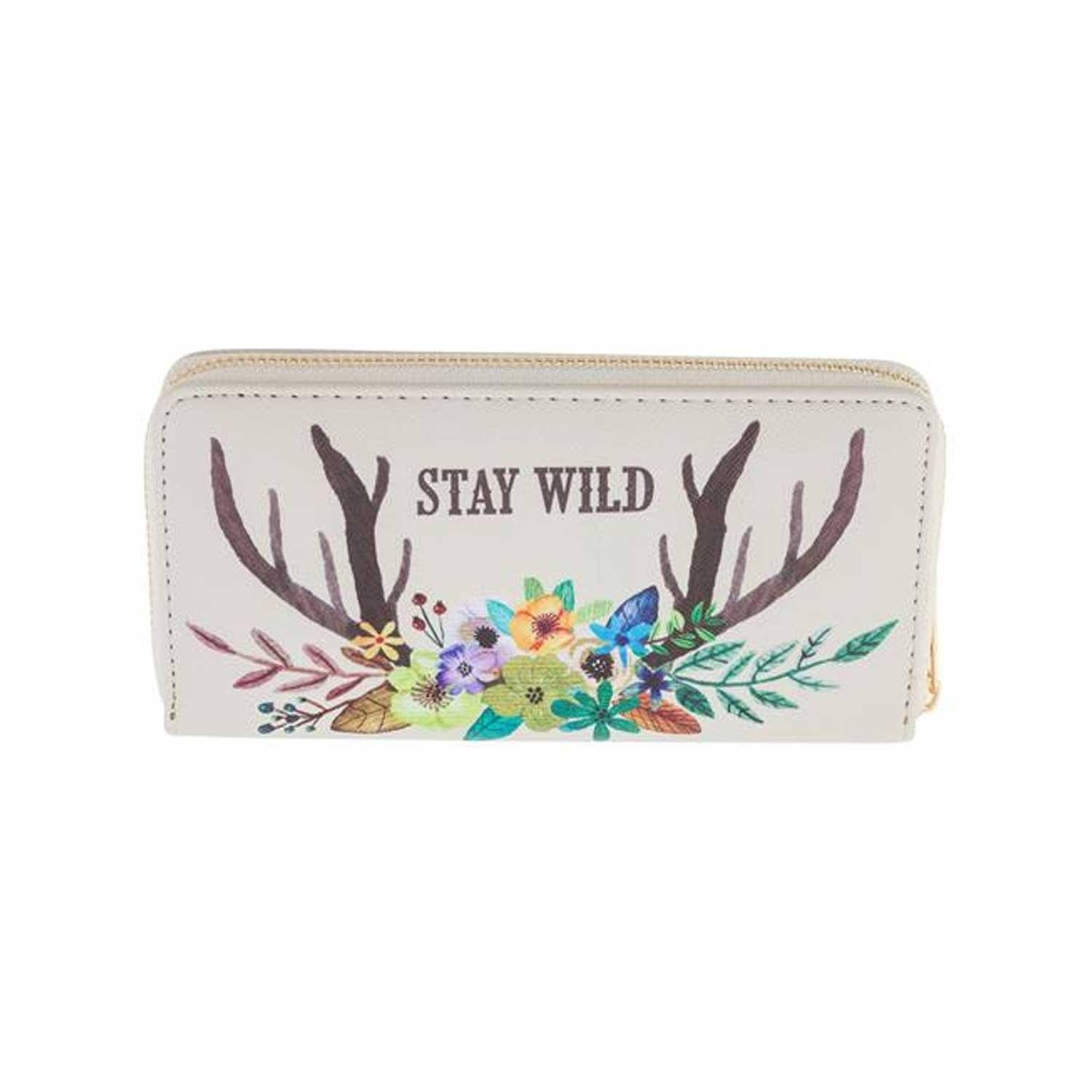 Karma Large Wallet Deer