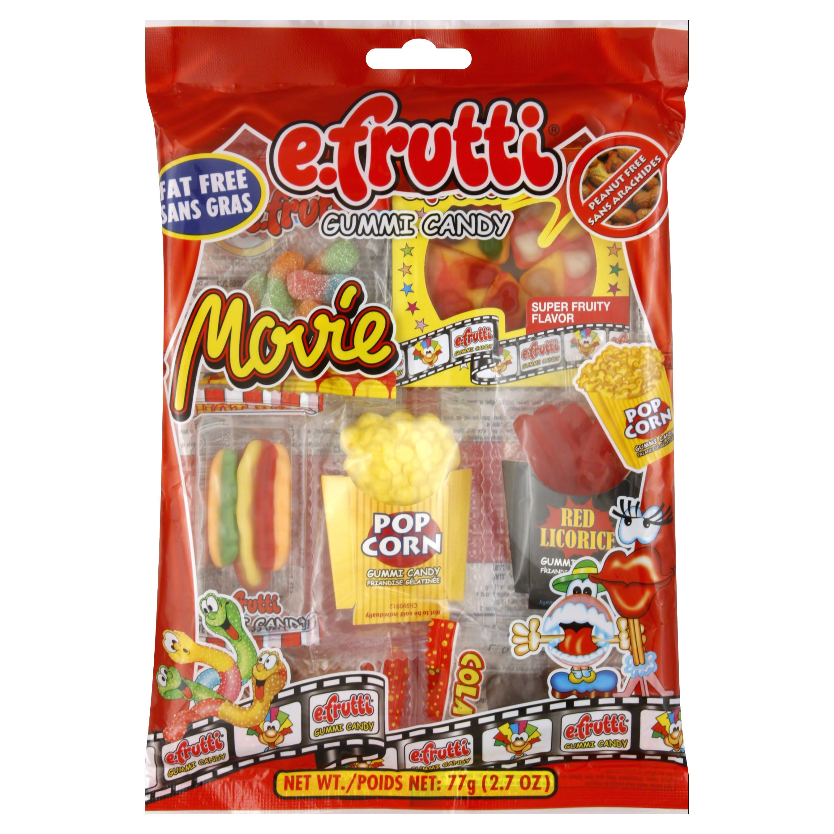 E. Frutti Gummi Candy Movie Pack