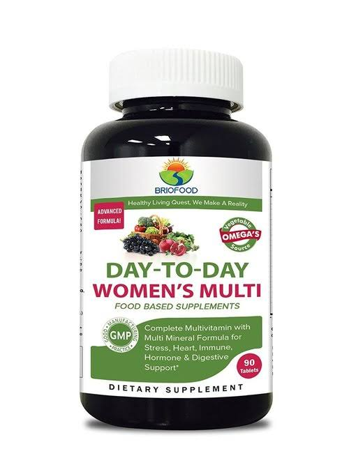Briofood Day To Day Food Based Women's Multi Supplement - 90 Tablets