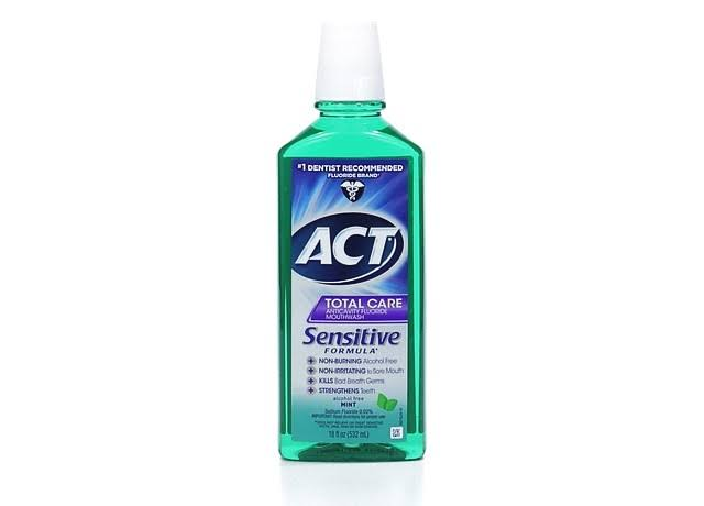 Act Total Care Anticavity Fluoride Mouthwash - Mint, 18oz