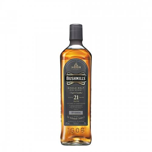 Bushmills 21 Year Old Madeira Finish Irish Malt Whiskey