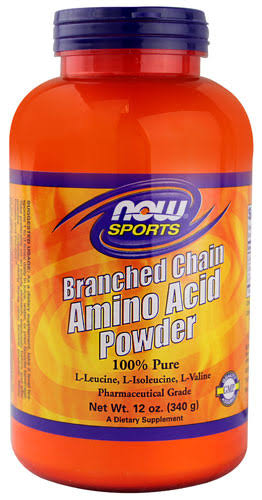 NOW Foods Branch Chain Amino Powder - 12oz