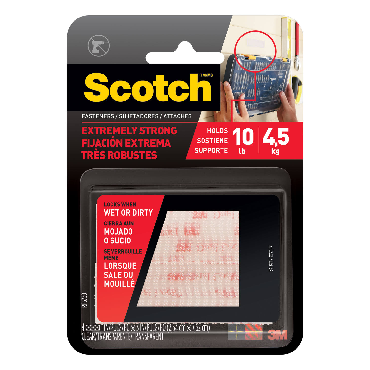 3M Scotch All Weather Fasteners