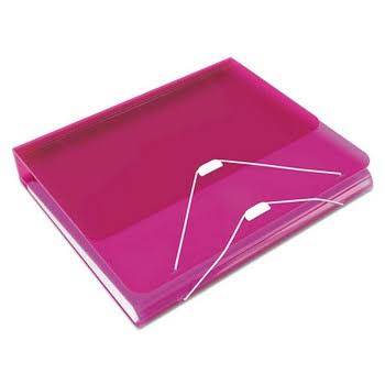 Samsill Duo 2 in 1 Binder Hot Pink